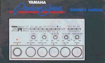 MR10 - Yamaha