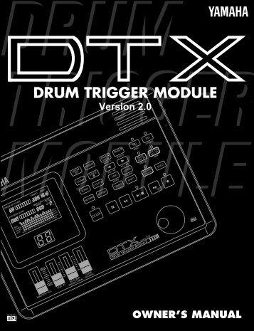 drum trigger module - Yamaha