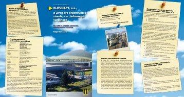 Stožok (pdf, 2 MB) - Slovnaft