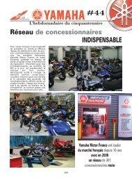 44 L'hebdomadaire du cinquantenaire Réseau de ... - Yamaha