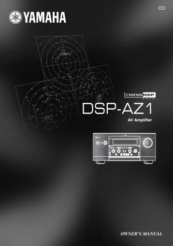 DSP-AZ1 - Yamaha