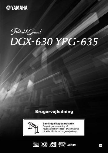 DGX-630 YPG-635 Owner's Manual - Yamaha Downloads