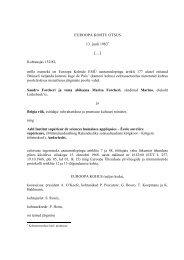 EUROOPA KOHTU OTSUS 13. juuli 1983 […] Kohtuasjas 152/82 ...