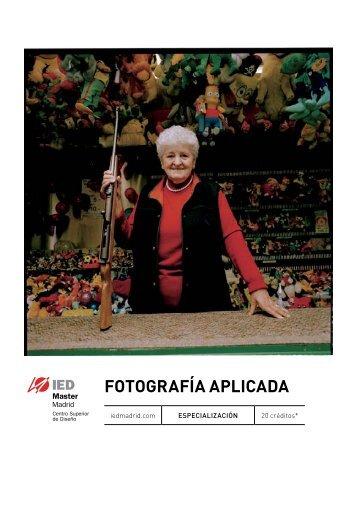 FOTOGRAFÍA APLICADA - IED Madrid