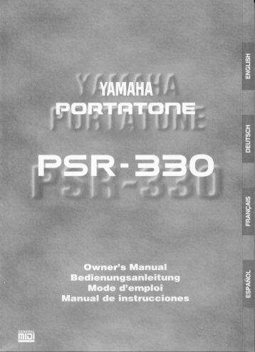 "1Die DIGITAL EFFECT-Funktion ""Harmony"" aufrufen - Yamaha"