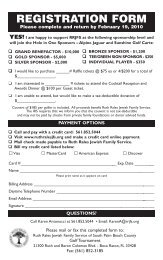 to print and mail or fax registration form - Ruth Rales Jewish Family ...
