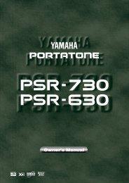 7918KB - Yamaha