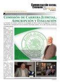 CONSEJO DE LA JUDICATURA DE JALISCO ACTIVIDADES 2011 - Page 5