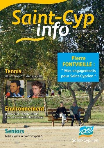 Tennis Environnement Seniors - Ville de Saint Cyprien