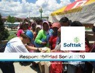 Reporte de Actividades 2010-2011 - Softtek