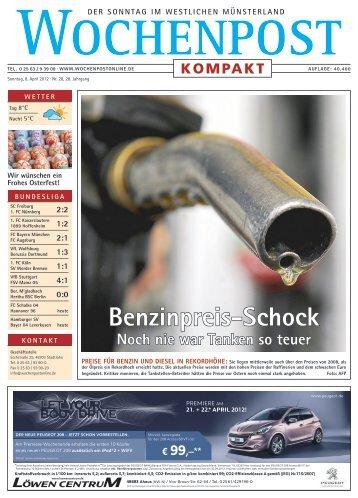 Benzinpreis-Schock