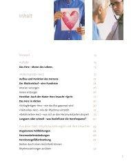 Inhaltsverzeichnis - Hirzel
