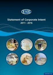 Statement of Corporate Intent - Environmental Science & Research