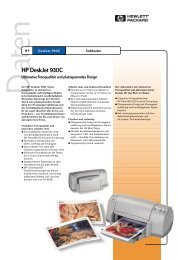 HP DeskJet 930C - produktinfo.conrad.com