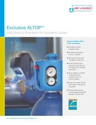 ALTOP for Industrial Gases - Air Liquide America Specialty Gases