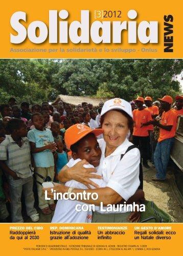 L'incontro con Laurinha L'incontro con Laurinha - Solidaria