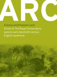 RCM ARC Booklet Apr.02 F/A - ARC Ensemble