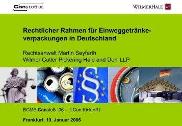 verpackungen - WilmerHale