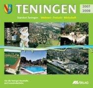 Standort Teningen Wohnen · Freizeit · Wirtschaft - Gemeinde Teningen