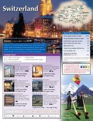 Switzerland Zurich | 3 days/2 nights | from $249 - Avanti Destinations