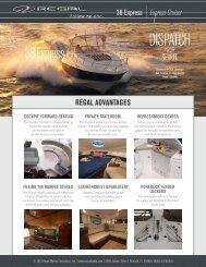 38 Express Express Cruiser REGAL ADVANTAGES - Regal Boats