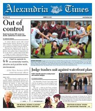 Out of control Judge trashes suit against ... - Alexandria Times