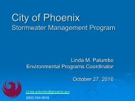 City of Phoenix - WESTCAS