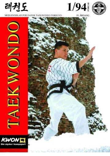 MEDLEMSBLAD FOR DANSK TAEKWONDO FORBUND