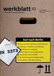 57. Mensa-Aktion - Studentenwerk  Berlin