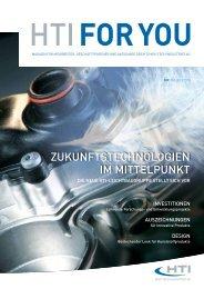 zuKunFTsTecHnologien im miTTelpunKT - HTI - High Tech ...