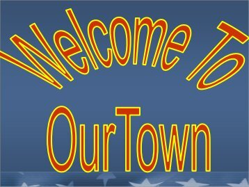 Our Town Tabletop Exercise - West Virginia Division of Homeland ...