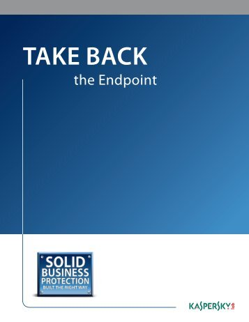 Take Back the Endpoint - CDW