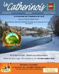 Novembre 2012 - Ville de Sainte-Catherine-de-la-Jacques-Cartier
