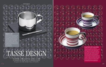 Nouvelle collection de tasses à café - Nespresso