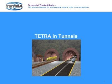 TETRA in Tunnels - Anthony Sutton
