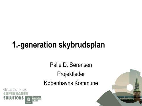 Københavns Kommunes Skybrudsplan - Vand i Byer