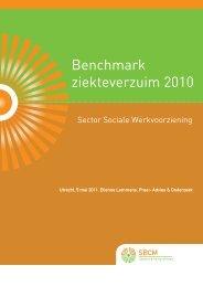 Verslag verzuim SW 2010 - SBCM