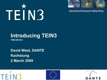 Introducing TEIN3
