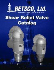 Shear Relief Valve