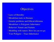 Objectives - De Anza College