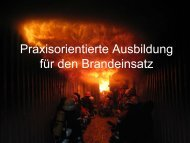 Praxisorientierte Ausbildung für den Brandeinsatz