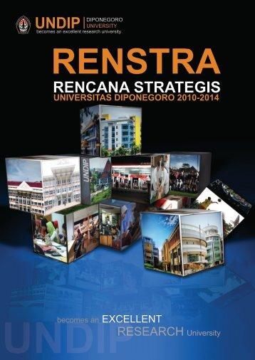1. renstra undip 2010-2014 - Fakultas Teknik UNDIP - Universitas ...