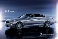 Broschüre des CL herunterladen (PDF) - Mercedes-Benz Österreich