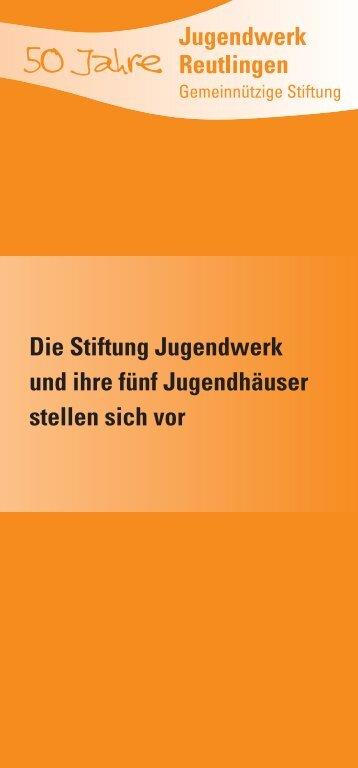 50 Jahre - Stiftung Jugendwerk