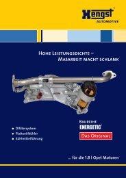 Hohe Leistungsdichte - Hengst GmbH & Co. KG