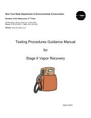 Testing Procedures Guidance Manual for Stage II Vapor Recovery