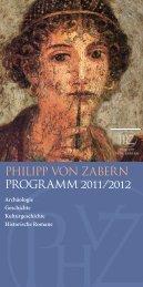 Philipp von zabern Programm 2011/2012