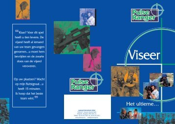 Pulse Ranger Dutch HR - LASERSPORT International Ltd