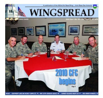 RANDOLPH AIR FORCE BASE 64th Year • No. 36 - San Antonio ...