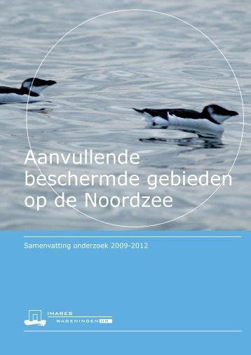 Aanvullende beschermde gebieden op de ... - Rijksoverheid.nl
